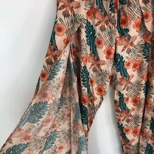 Roxy Pants - Roxy Floral Tropical Pants